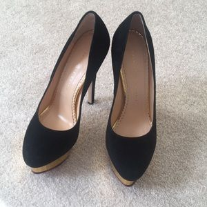 Brand new with box Charlotte Olympia dolly 37.5